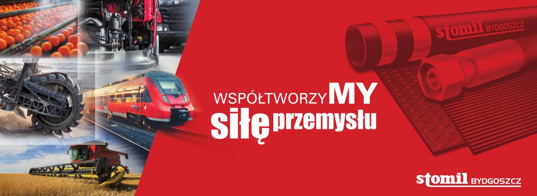 Stomil Bydgoszcz - Producent wezy przemysłowych i hydraulicznych